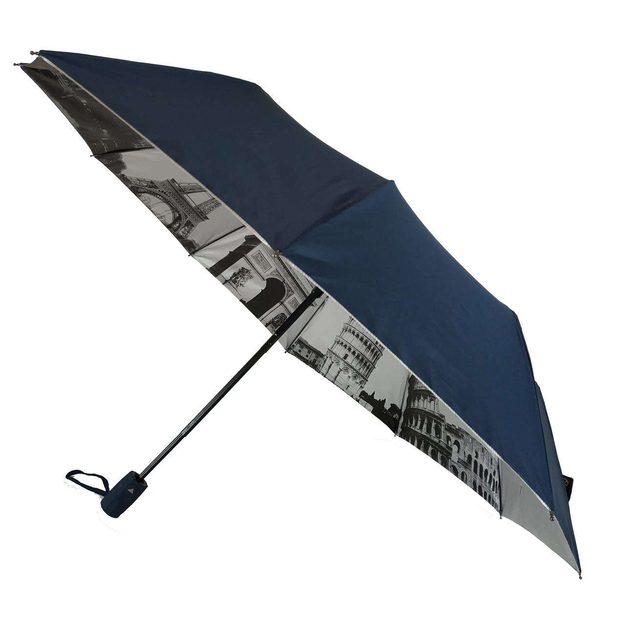 Зонтик полуавтомат Bellissimo Темно-синий 18315-8, КОД: 1234701