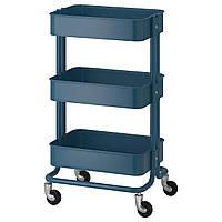 IKEA RASKOG Столик на колесах, флот (304.017.89)