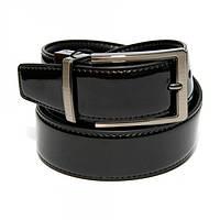 Кожаный мужской ремень двусторонний Alon Черный Z-350769, КОД: 972648