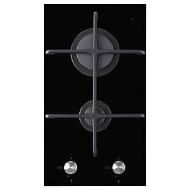 IKEA MOJLIG Газовая варочная панель, 2 горелки, черная  (802.371.50)