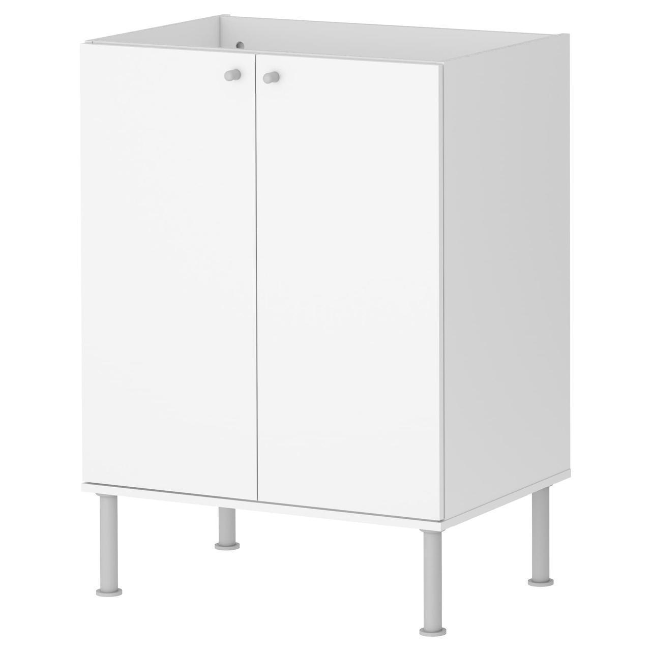 IKEA FULLEN Шкаф для раковины, белый  (701.890.41)