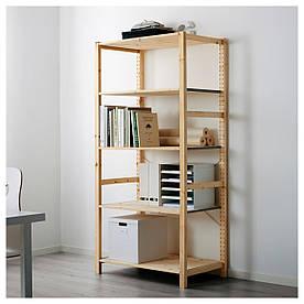 IKEA IVAR Стеллаж, сосна  (890.067.96)
