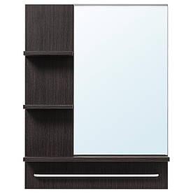 IKEA LILLANGEN Зеркало, черно-коричневый  (702.049.42)