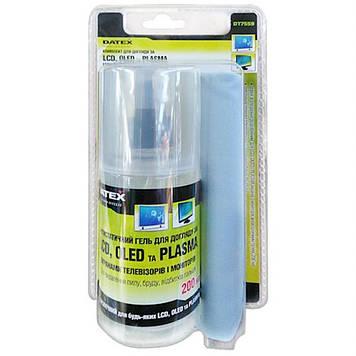 Универсальный чистящий набор DATEX PLASMA, LCD, OLED CLEANING KIT 200мл (DT7559)