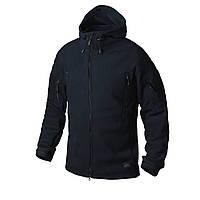 Куртка флисовая Helikon-Tex® PATRIOT Jacket - Double Fleece - Темно-синяя
