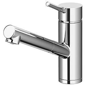 IKEA YTTRAN Смеситель для кухни с душем, хром  (403.059.47)