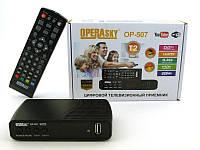 TV тюнер Т2 приемник для цифрового ТВ Operasky DVB-Т2 OP-507 USB Wi-Fi par2408002, КОД: 195941