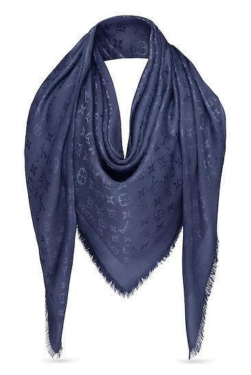 """Женская шаль Louis Vuitton Monogram  """"Фиолетовый"""""""