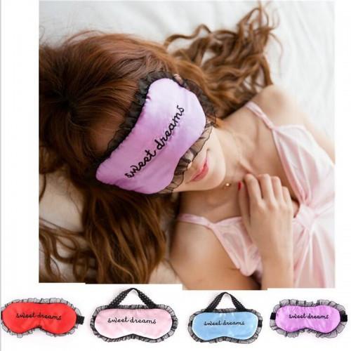 Кружевная атласная маска для глаз Sweet