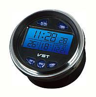 Автомобільні годинник, термометр, вольтметр Vst-7042v