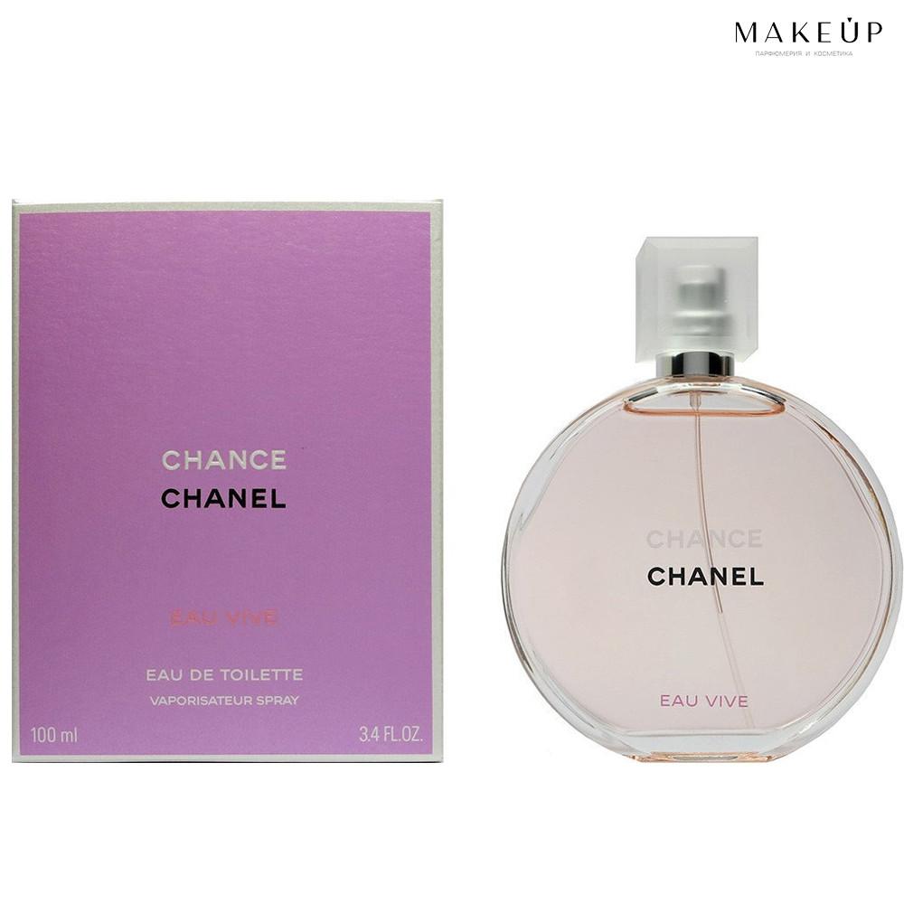 Женская туалетная вода Chanel Chance eau VIVE edt 100 мл. | Лицензия Объединённые  Арабские Эмираты
