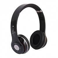 Наушники беспроводные MDR S460 Bluetooth с FM и MP3 Black 1000243, КОД: 104090