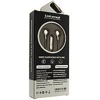 Наушники вакуумные проводние гарнитура HF  S500C микрофон