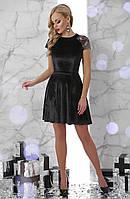 Платье GLEM Диана L Черный GLM-pl00073, КОД: 305630