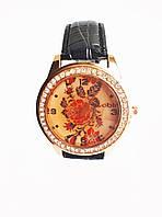 Часы кварцевые Вышиванка Черный, КОД: 111990