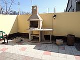 """Уличный камин-барбекю """"Каир"""" с одним столом, фото 4"""