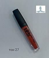 Жидкая помада LuxVisage Pin Up Ultra matt тон 20 - 40 Flirt Peach #27