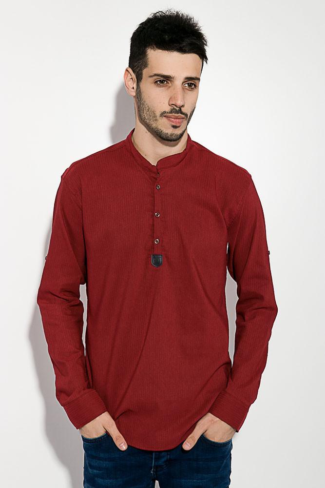 Рубашка 511F005-4 цвет Бордо