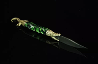 Подарочный нож для писем ручной работы (сувенирный нож для открывания конвертов)