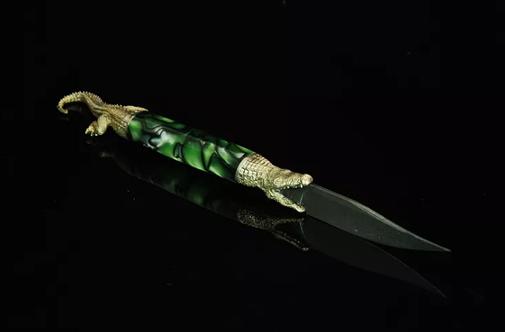 Подарочный нож для писем ручной работы (сувенирный нож для открывания конвертов), фото 2