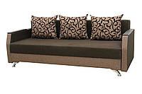 Диван Garnitur.plus Лаванда светло-коричневый 210 см DP-301, КОД: 181451