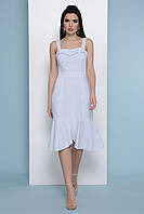 Платье-сарафан GLEM Саванна S Голубой GLM-pl00271, КОД: 1079541