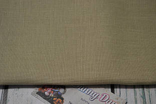 3348/323 Ткань для вышивания Newcastle , цвет - летний хаки, 40ct