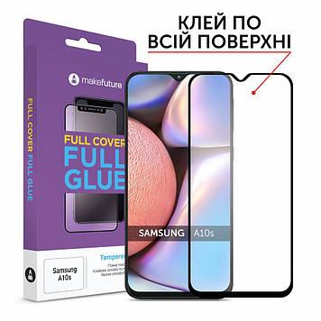 Стекло защитное MakeFuture Samsung A10s Full Cover Full Glue (MGF-SA10S)