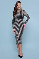 Платье GLEM Лилу XL Черный GLM-pl00195, КОД: 717531
