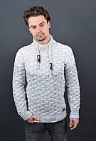 Мужской теплый свитер 7023  размер XL