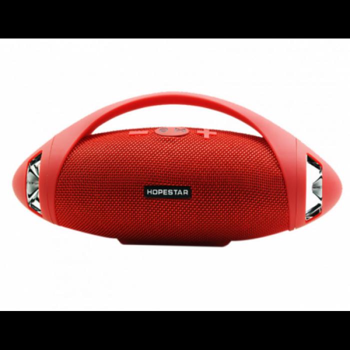 Портативная bluetooth стерео колонка спикер Hopestar H37 Красный