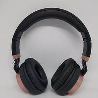 Беспроводные Bluetooth Стерео наушники Gorsun GS-E89 Чёрные с золотым, фото 1