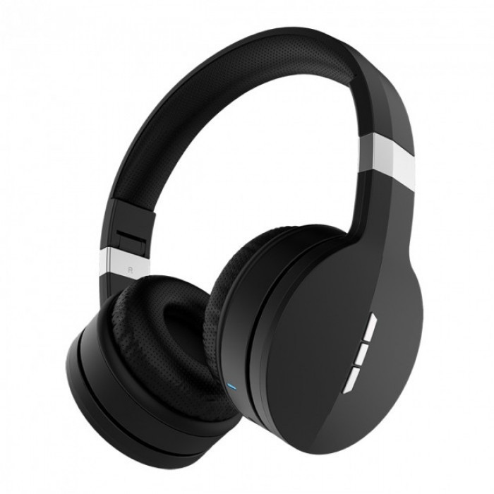 Беспроводные Bluetooth Стерео наушники Gorsun GS-E88A Micro SD Чёрные с серым