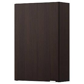 IKEA LILLANGEN Настенный шкаф, черно-коричневый черно-коричневый  (802.407.89)