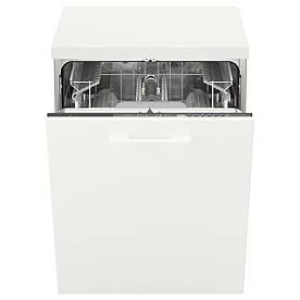 IKEA SKINANDE Вбудована посудомийна машина, сірий (003.858.37)