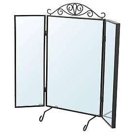 IKEA KARMSUND Настольное зеркало, черный  (202.949.83)