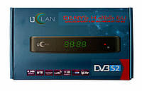 Спутниковый цифровой HDTV ресивер с функцией IPTV и медиаплеера UClan DENYS H.265 EU