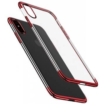 Чехол для моб. телефона Baseus iPhone XS Glitter , Red (WIAPIPH58-DW09)