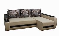 Угловой диван Garnitur.plus Граф светло-бежевый 245 см DP-242, КОД: 181498