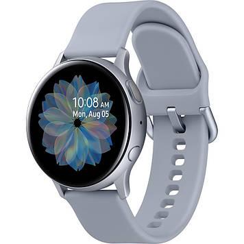 Смарт-часы Samsung SM-R830 Galaxy Watch Active 2 40mm Aluminium Silver (SM-R830NZSASEK)