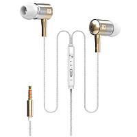 Наушники с микрофоном Langsdom I-1 Golden 1840-5993, КОД: 307429