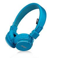 Беспроводные bluetooth наушники Kronos MDR NIA X3 Blue gr007260, КОД: 915897