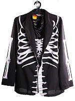 Костюм мужской  Скелет Halloween (размер М)