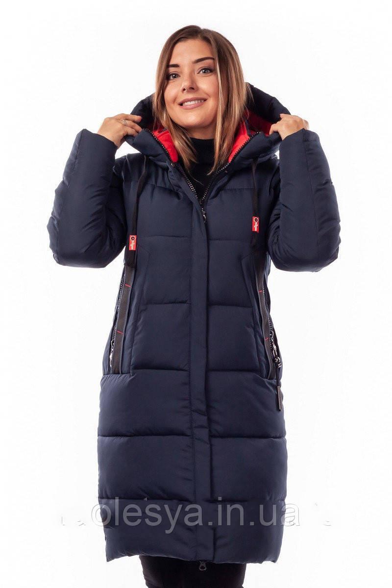 Зимняя женская куртка пуховик Ангелина Размеры 44- 54 Супер новинка!