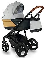 Дитяча коляска BEXA Ultra U1 Сіра з бежевим 3072018016, КОД: 125787