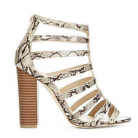 Босоножки JustFab Womens Antigonia Snake 39 Серый DA1512416SE-39, КОД: 1212929