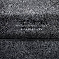 Сумка мужская Dr. Bond GL 202-2 барсетка черная классическая два отделения 19*23*5 см