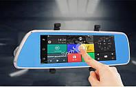 "Видеорегистратор V200 DV-560 k36 Android WiFi GPS 7"" 3G SIM-карта DVR Car Expert зеркало c регистратором"