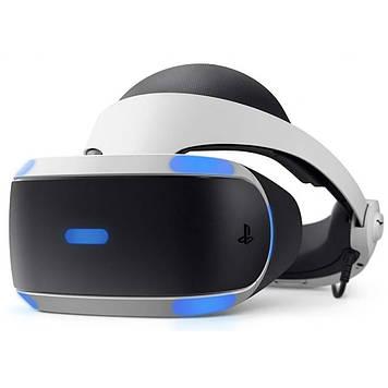 Очки виртуальной реальности SONY PlayStation VR (VR MegaPack + 5 ігор в комплекті)) (9785910)