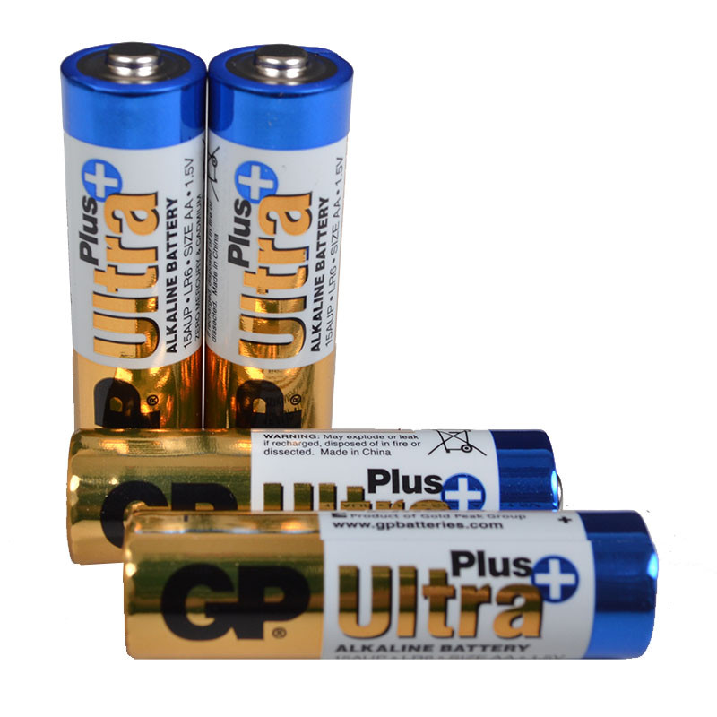 Лужна Батарейка Alkaaline AA Ultra plus (15AUPHM-2UE4, LR6) GP 1.5 V (4шт, блістер)